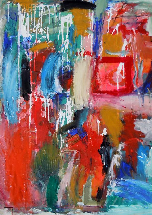 Kunstkaarten - Kunstkaart Feel Free IW