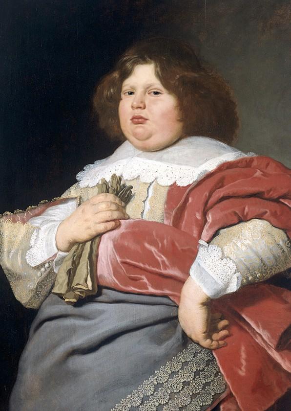 Kunstkaarten - Kunstkaart van  Bartholomeus van der Helst. Dikke Bicker.