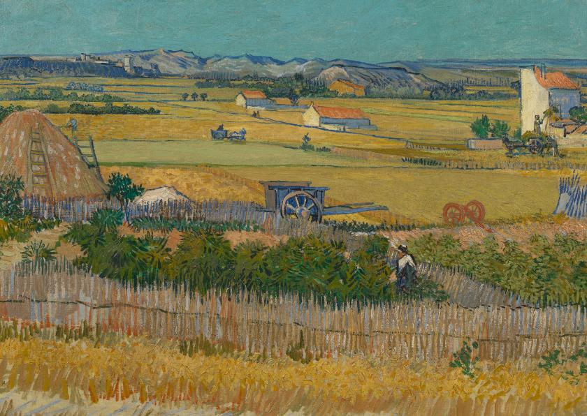 Kunstkaarten - Vincent van Gogh. De oogst