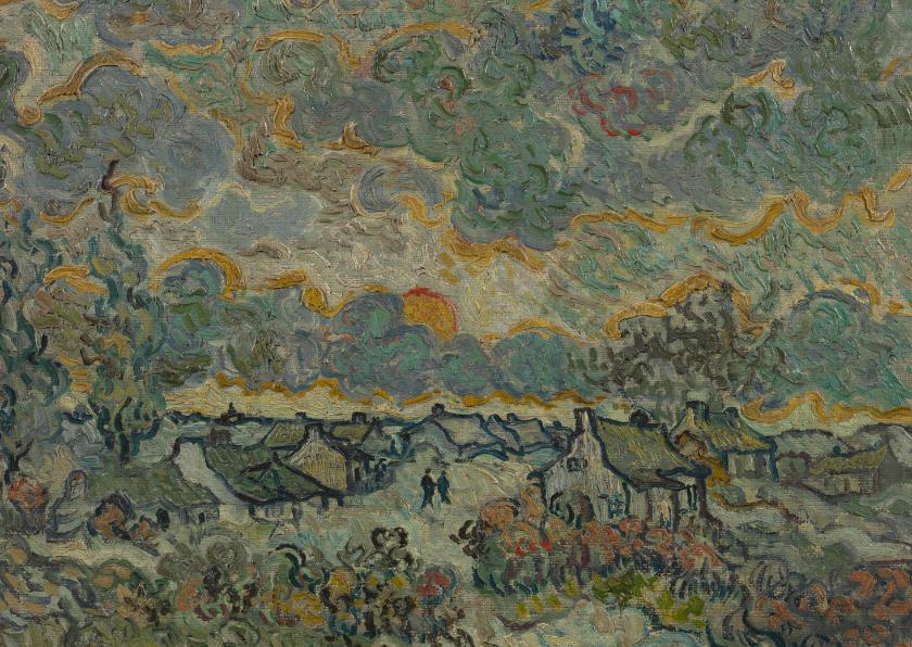 Kunstkaarten - Vincent van Gogh. Herinnering aan Brabant
