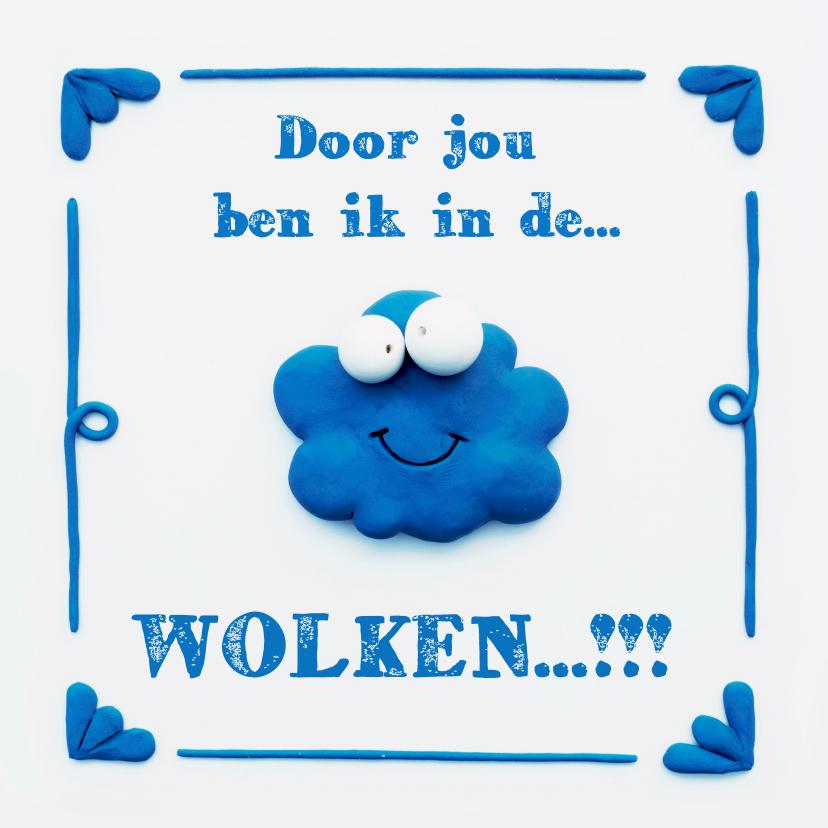 Liefde kaarten - Delfts Blauwe Wolk