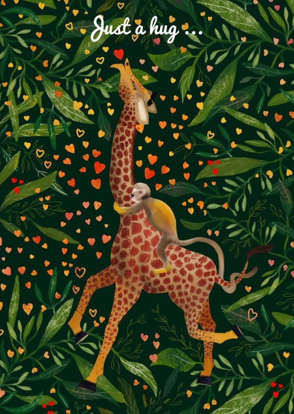 Liefde kaarten - Jungle Love II