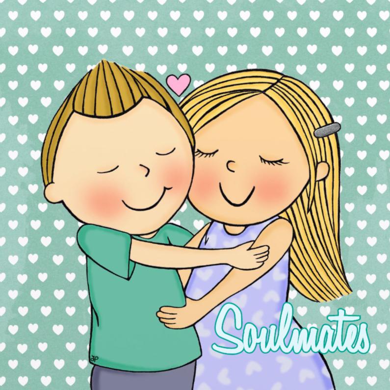 Liefde kaarten - Liefde Soulmates Blond - TbJ