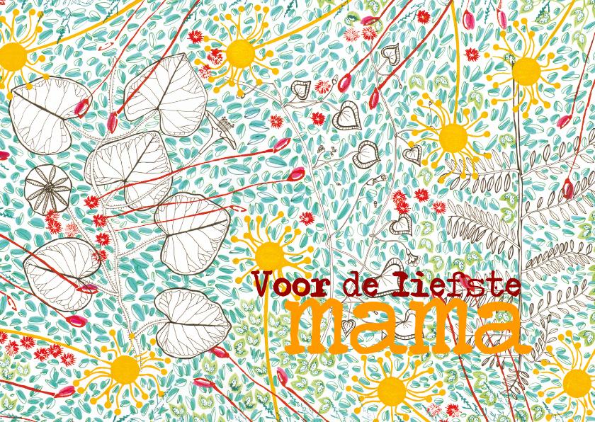 Moederdag kaarten - Allerliefste mama2