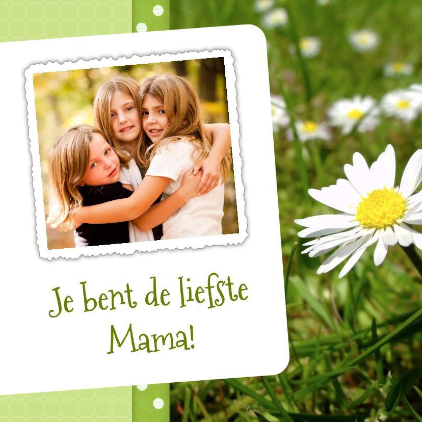 Moederdag kaarten - Bloemenkaart Madelief Mama - BK