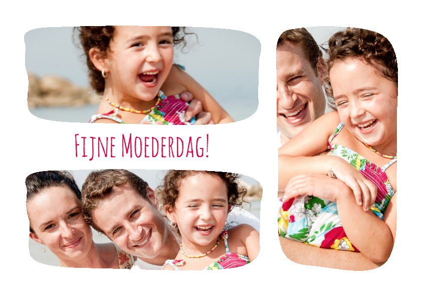 Moederdag kaarten - Collage Fijne Moederdag! - BK