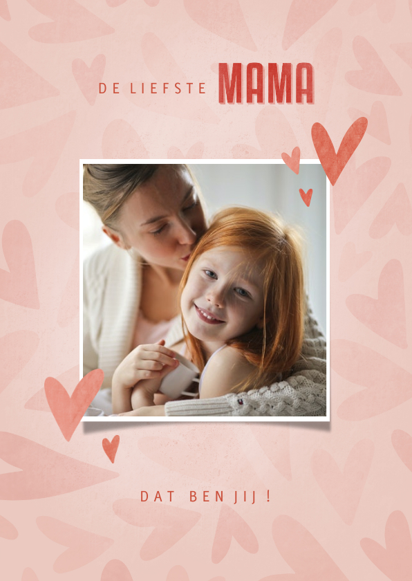 Moederdag kaarten - Make-A-Wish kaart de liefste mama