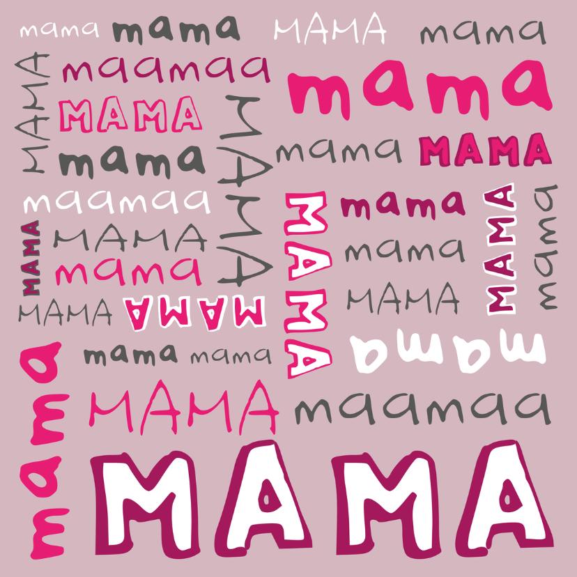 Moederdag kaarten - Moederdag Duizend Keer Mama