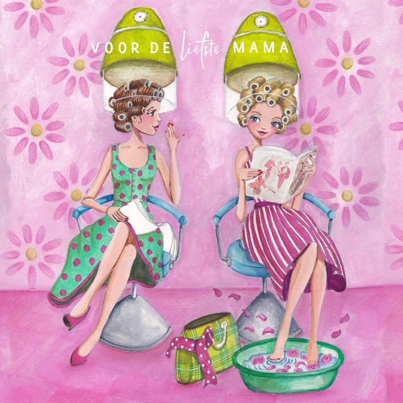 Moederdag kaarten - Moederdag Mama Liefste Verwendag