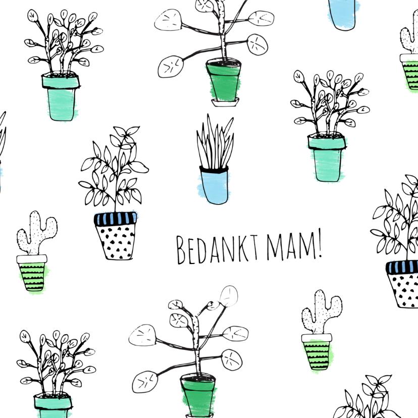 Moederdag kaarten - Moederdag planten - SV