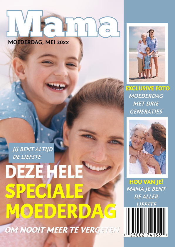 Moederdag kaarten - Moederdag Tijdschrift Mama