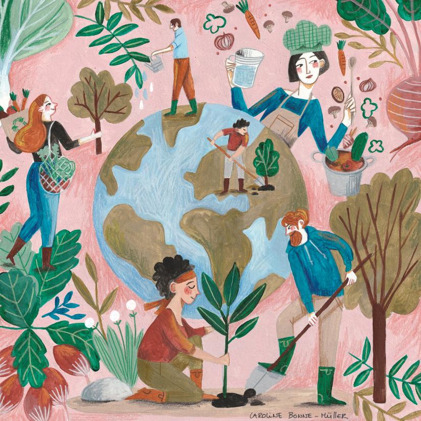 Moederdag kaarten - Moederdagkaart #OurOtherMother moeder aarde liefde!