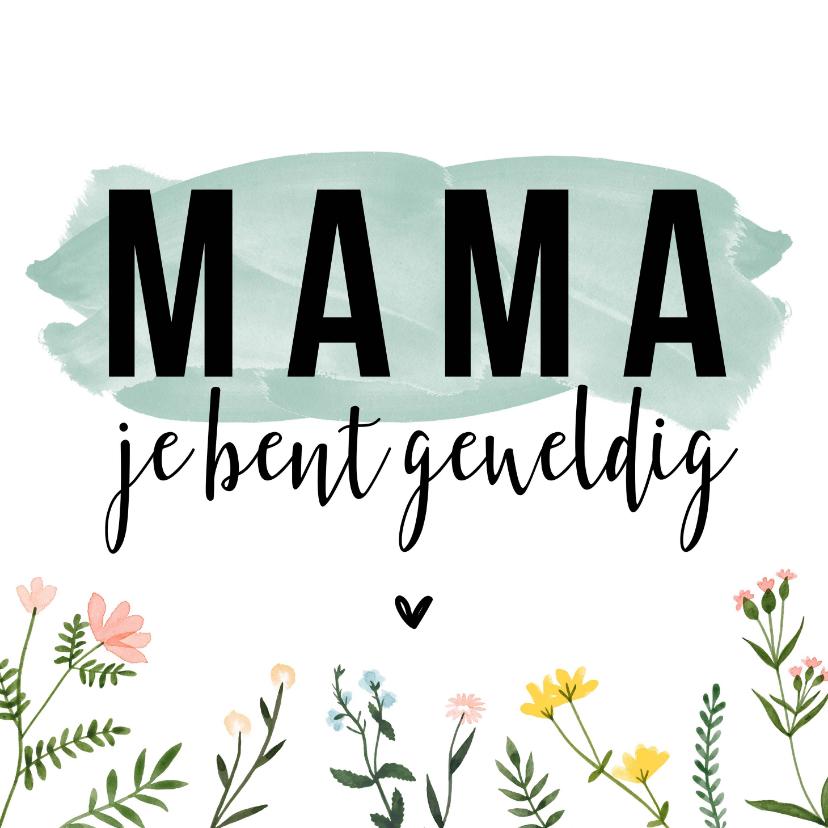 Moederdag kaarten - Moederdagkaarten | Mama je bent geweldig