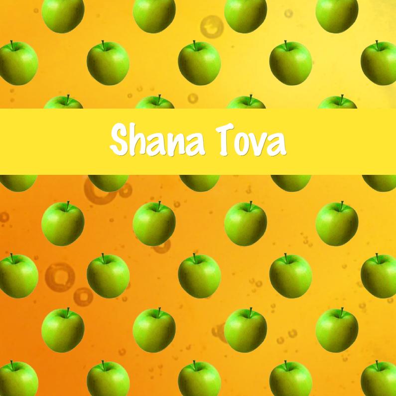Nieuwjaarskaarten - Appels met honing -  joods Shana Tova