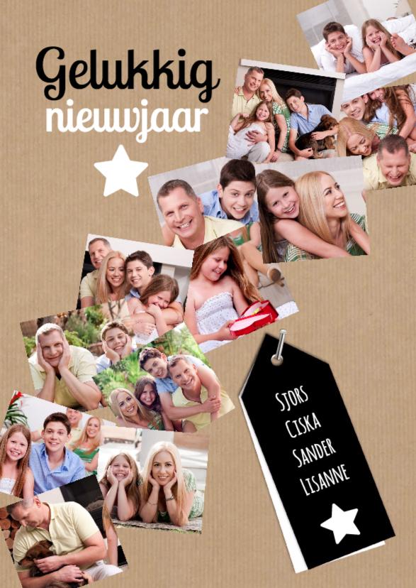 Nieuwjaarskaarten - Collage van het jaar 2019