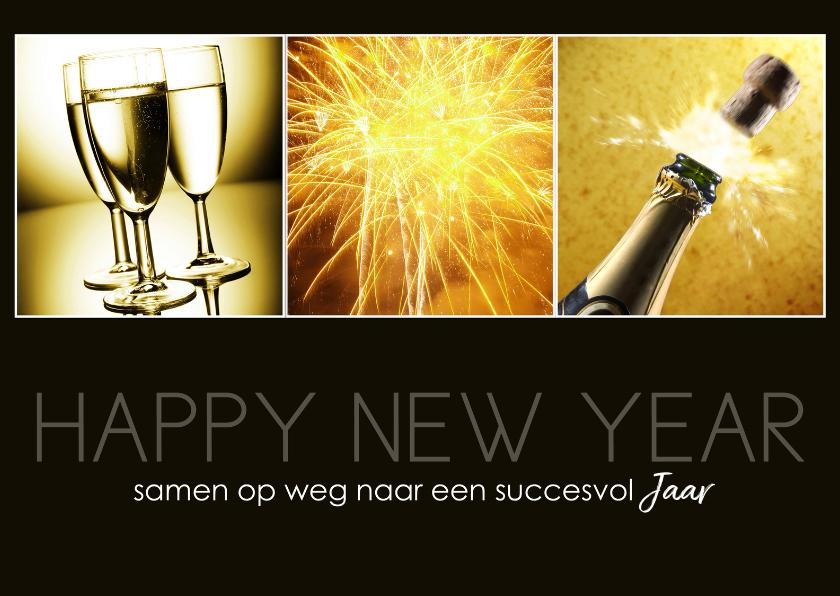 Nieuwjaarskaarten - Happy New Year 12