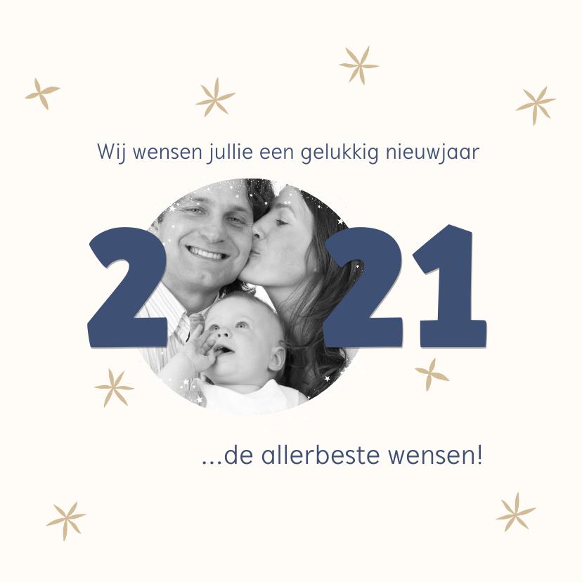 Nieuwjaarskaarten - Nieuwjaarskaart foto 2020 kader