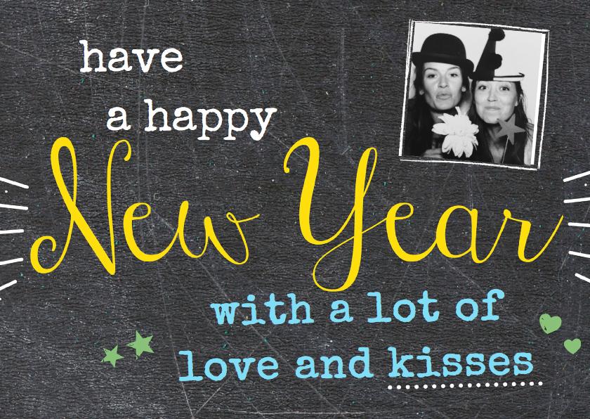 Nieuwjaarskaarten - Nieuwjaarskaart have a happy New Year