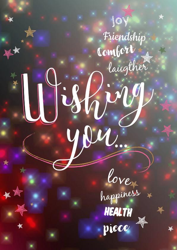 Nieuwjaarskaarten - Nieuwjaarskaarten Wishing you...
