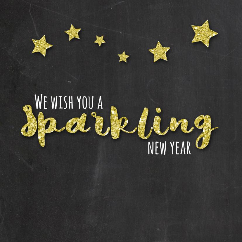 Nieuwjaarskaarten - Sparkling New Year - DH
