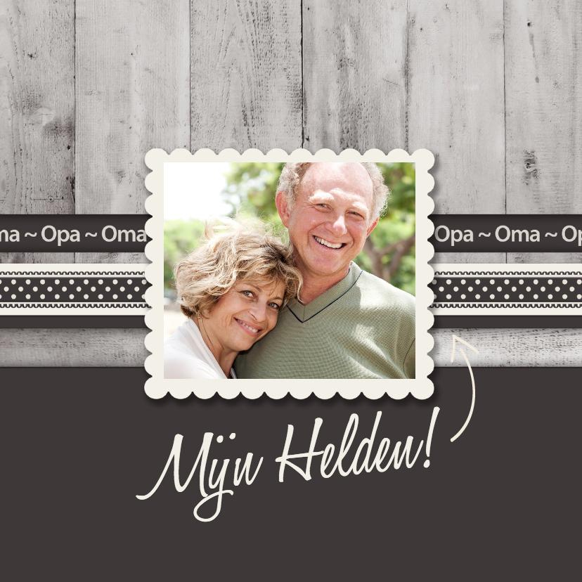 Opa en Oma kaarten - Mijn Helden - BK
