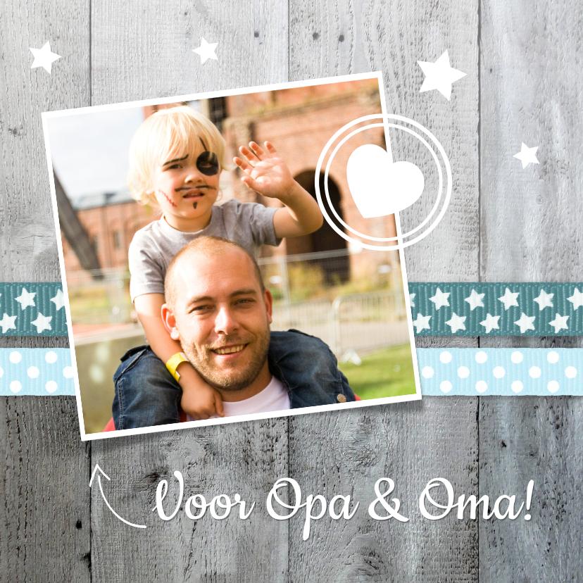 Opa en Oma kaarten - Opa en Omadag - Voor opa en oma