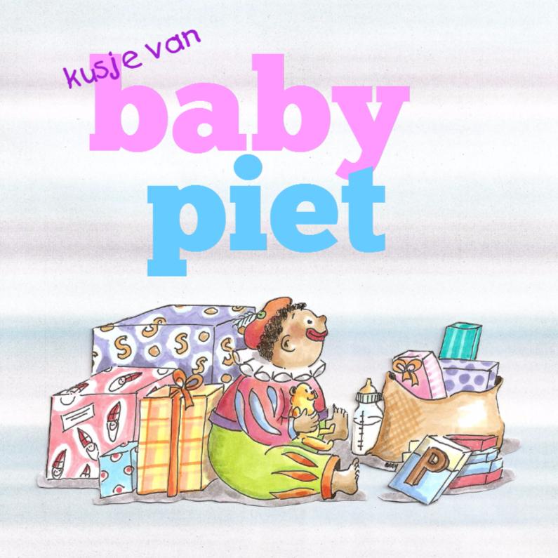 Sinterklaaskaarten - Baby Piet
