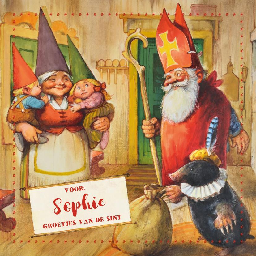 Sinterklaaskaarten - Een kaartje van de kaboutersint!