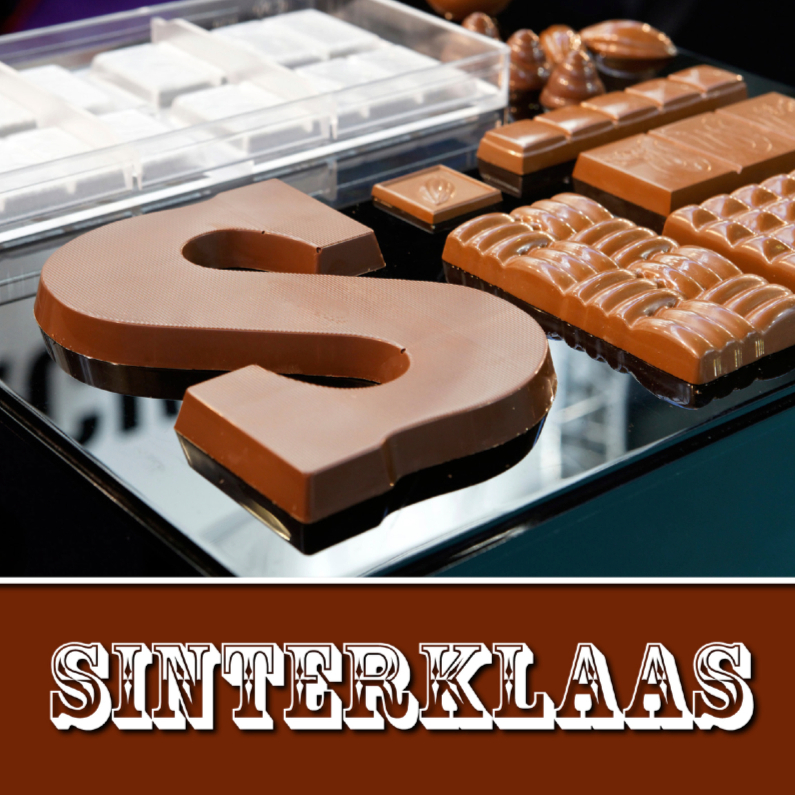 Sinterklaaskaarten - Sinterklaas Chocolade - OT