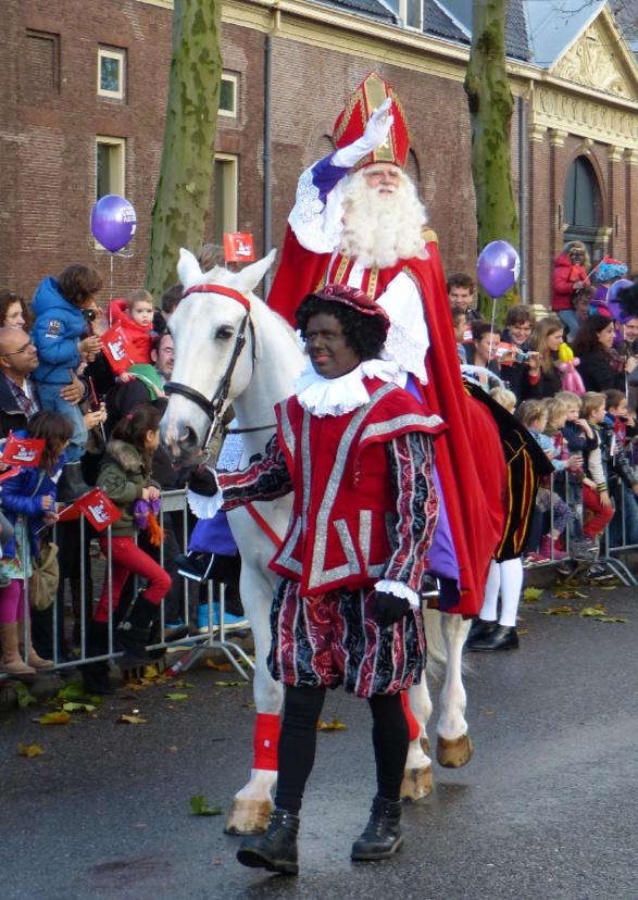 Sinterklaaskaarten - Sinterklaas intocht Amsterdam