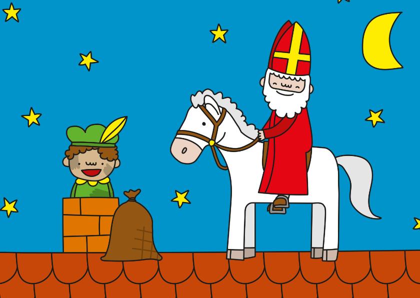 Sinterklaaskaarten - Sinterklaas Ozosnel