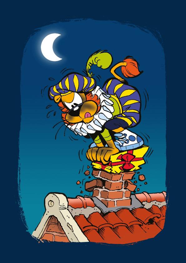 Sinterklaaskaarten - Sinterklaas uitnodiging van Piet -A