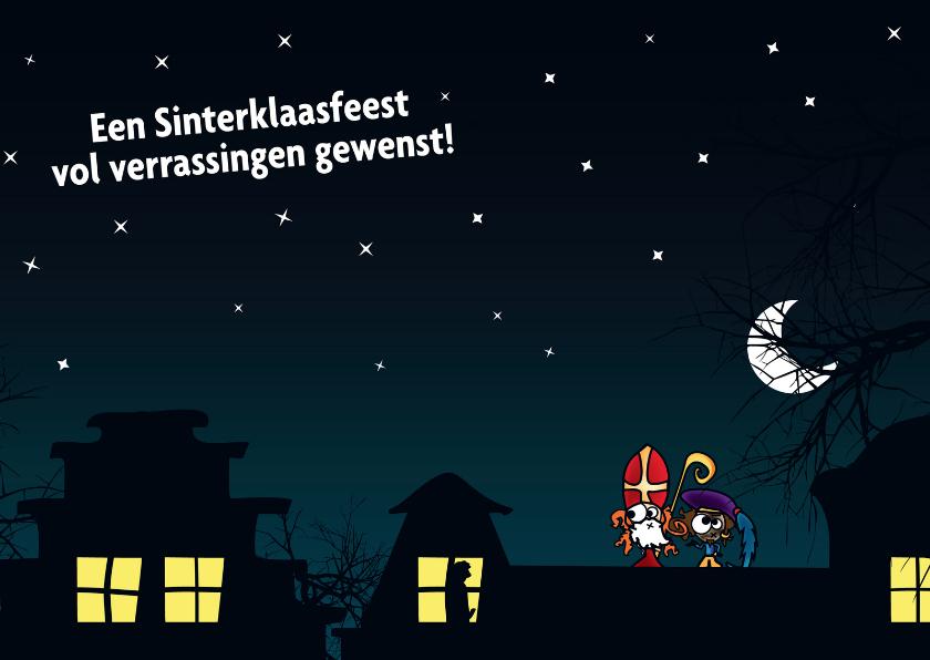 Sinterklaaskaarten - Sinterklaasfeest vol verrassingen