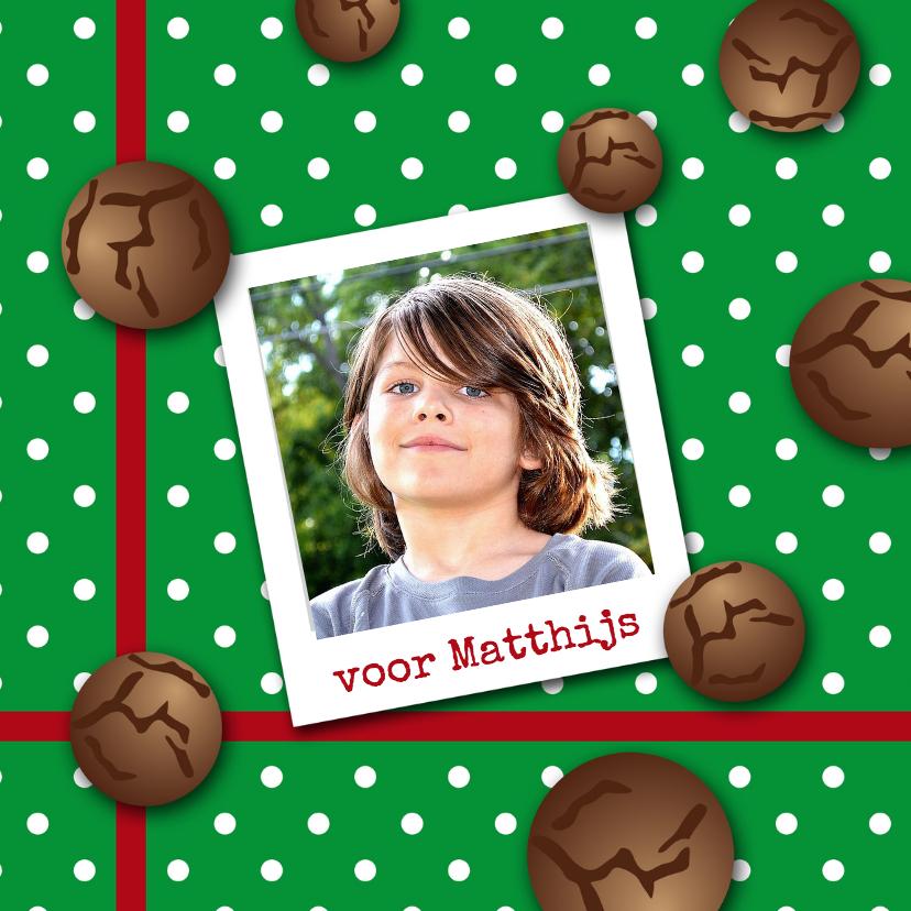 Sinterklaaskaarten - Sinterklaaskaart pepernoot gr-HR