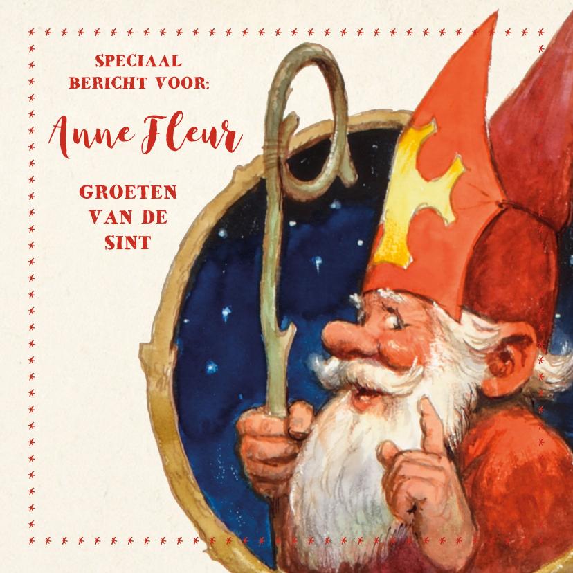 Sinterklaaskaarten - Speciaal bericht van de Kabouter Sint
