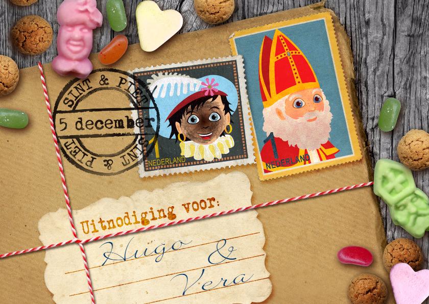 Sinterklaaskaarten - YVON brief van sinterklaas rh post