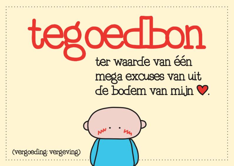 Sorry kaarten - Sorry Tegoedbon