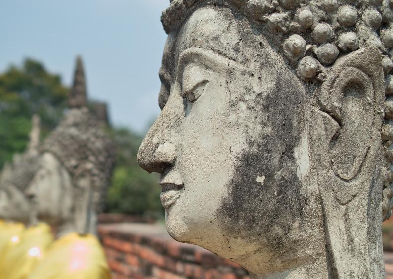 Religie kaarten - Bhoeddha en profiel