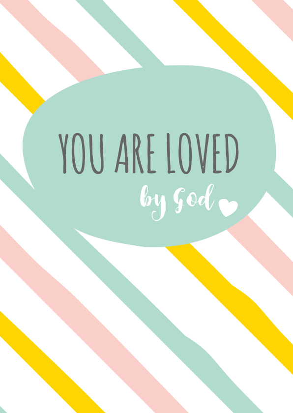Religie kaarten - Religie kaarten Christeljk You are loved