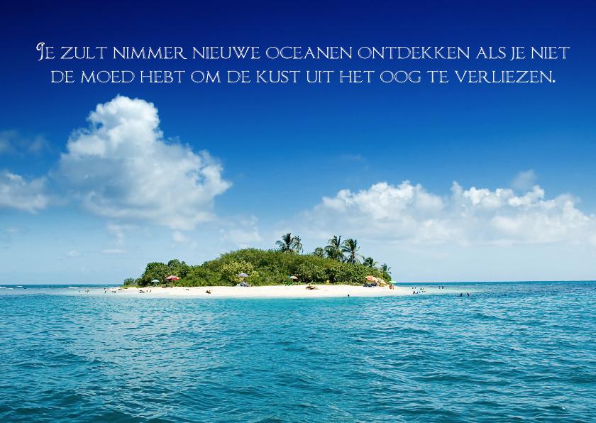 Citaten Met Schrijven : Kaart met spreuk eiland spreukenkaarten kaartje go