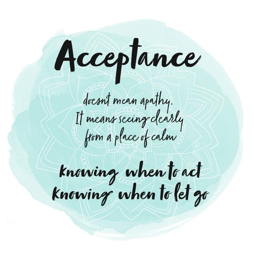 Spreukenkaarten - Spreukenkaart Acceptance