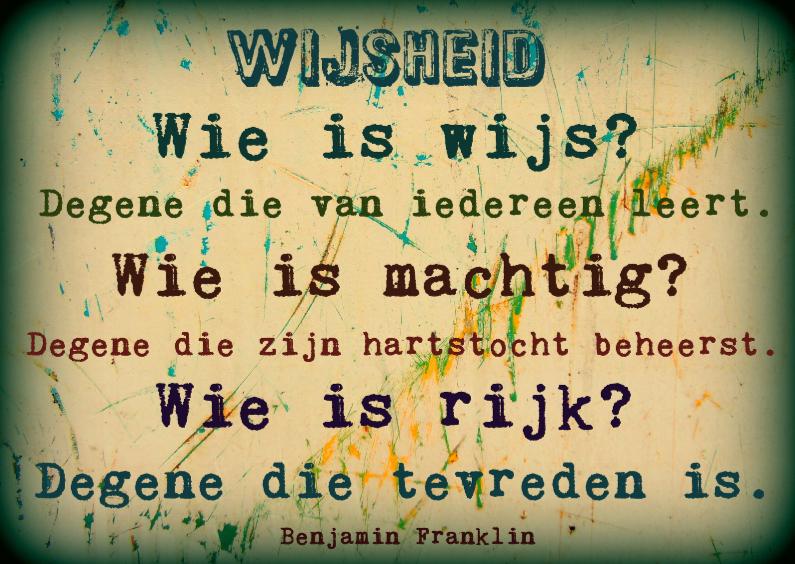 wijsheid spreuken Spreukenkaart wijsheid   Spreukenkaarten | Kaartje2go wijsheid spreuken