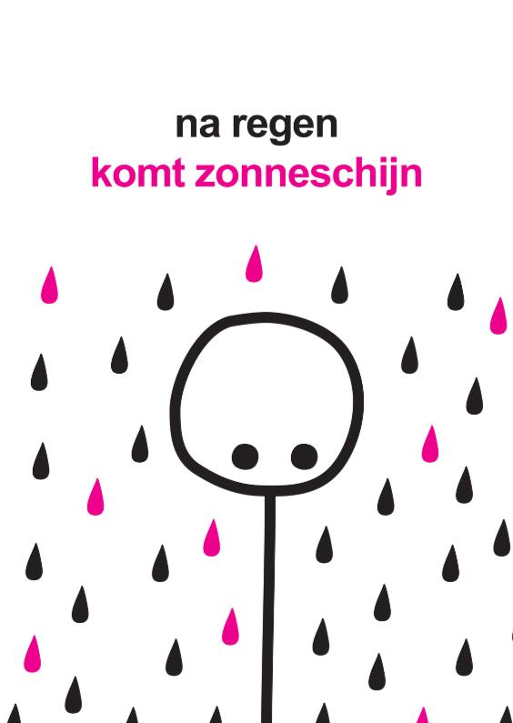 Sterkte kaarten - Sterkte Mimiez Regen Zonneschijn