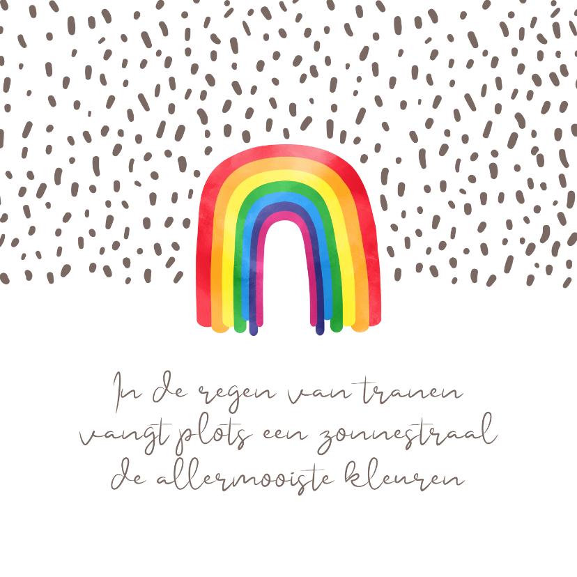 Sterkte kaarten - Sterkte Regenboog met de allermooiste kleuren