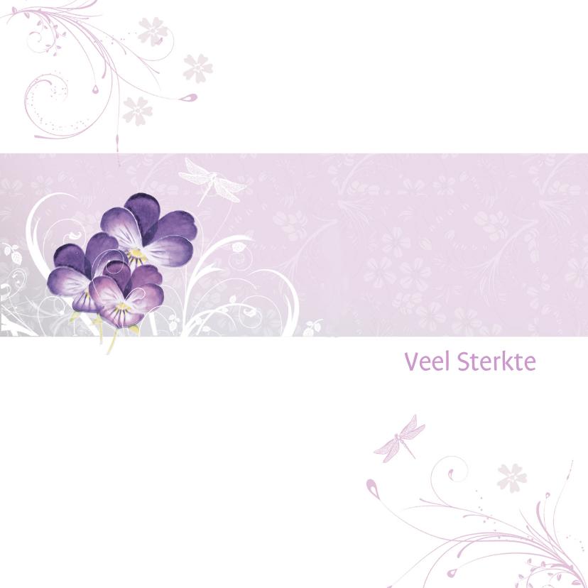 Sterkte kaarten - Sterkte viooltjes