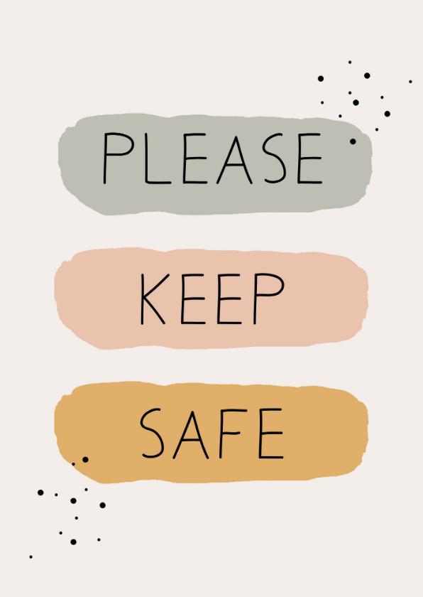 Sterkte kaarten - Sterktekaart Please keep safe