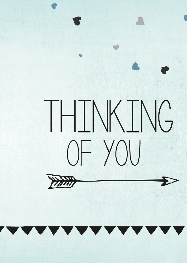Sterkte kaarten - With love, thinking of you