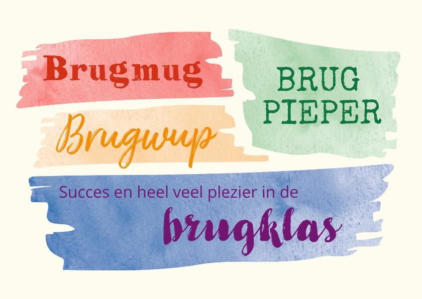 Succes kaarten - Brugmug of brugwup