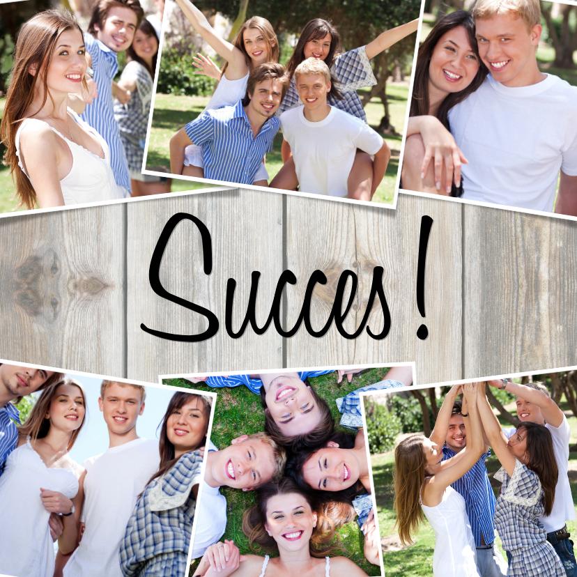 Succes kaarten - Collage Succes! - BK