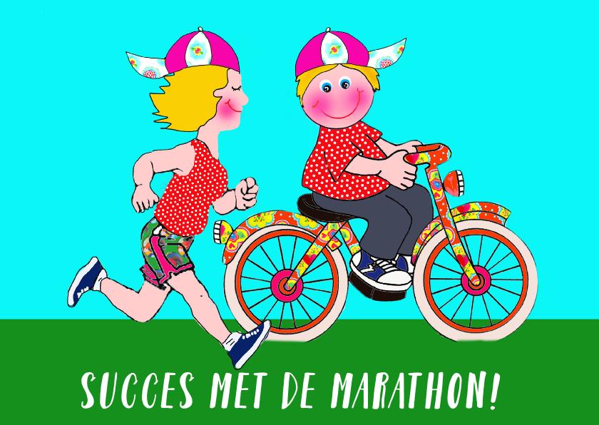 Succes kaarten - Succes midzomernachtmarathon